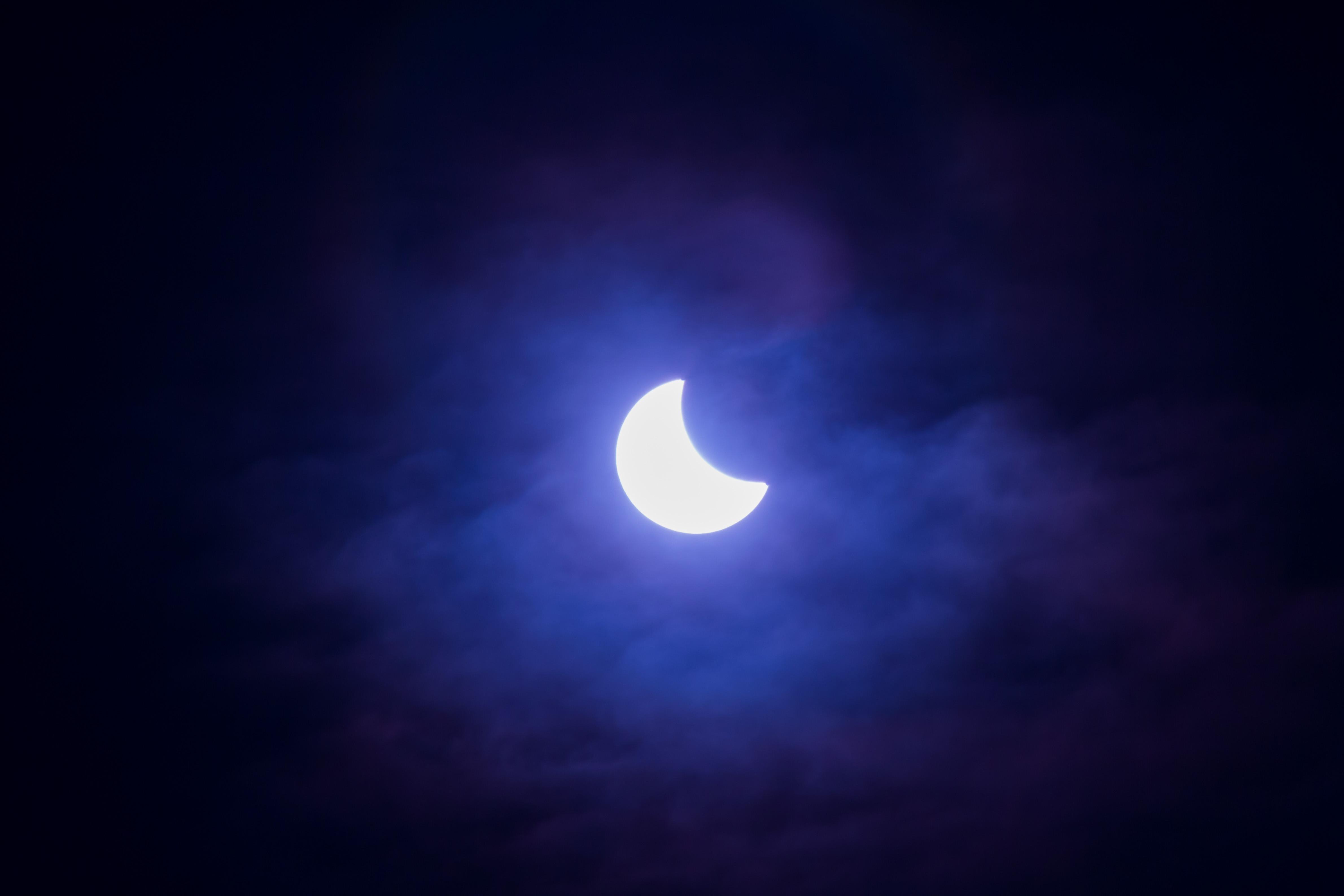 Sun eclipse Zurich Oberland