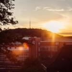 Evening walk Winterthur